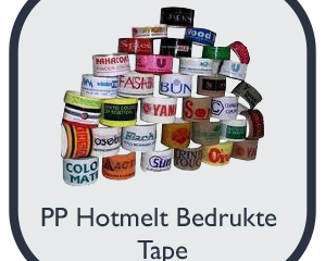 PP Hotmelt bedrukte tape – 50mm